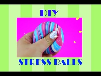 DIY Stress Balls! || OOBLECK and SLIME!!!