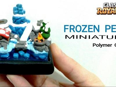 Frozen Peak Arena | Clash Royale | Polymer Clay Tutorial