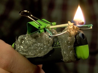 How to Make a Cool and Powerful Mini Crossbow from Lighter ( DIY )
