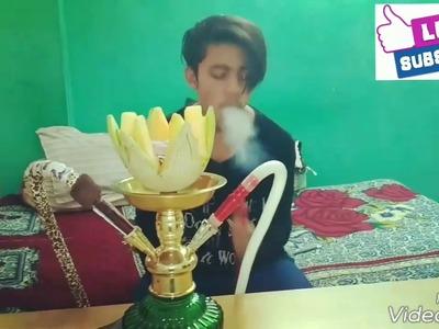 How to make a melon hookah bowl (shisha) DIY