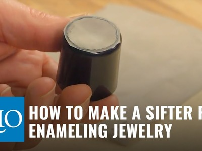 How to Make a Sifter for Enameling Jewelry
