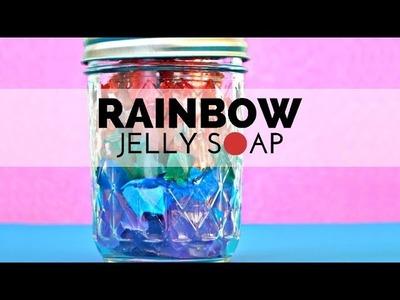 How to Make Rainbow Jelly Soap