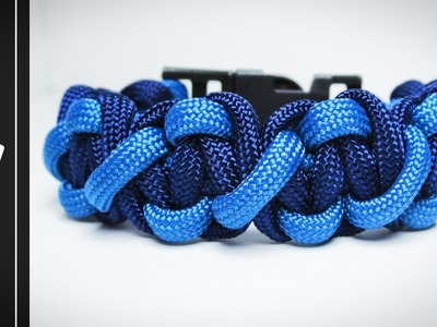 How to make the Paralix Paracord Survival Bracelet (Bootlace + Cobra) [Tutorial]