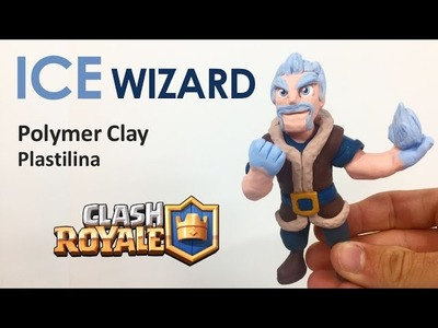 ICE WIZARD (Clash Royale) - Polymer Clay Tutorial