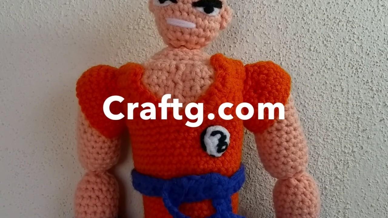 Dragon Ball Z Crochet Hat Pattern