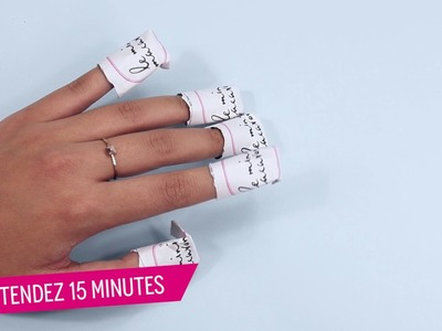 Le Mini Macaron: How to Remove Your Gel Manicure (NEW Tutorial, French)