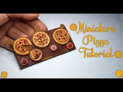 Miniature Pizza Tutorial-Polymer Clay