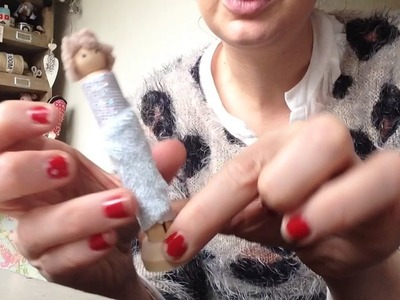 Mrs crazy bag lady tutorial how to make peg ladies from vintage dolly pegs they are fabulous lol