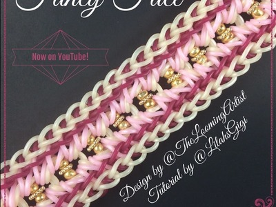 NEW Rainbow Loom FANCY FACE Bracelet (5 Pin Bar)