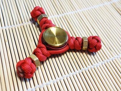 Paracord Hand Spinner (Tri-Spinner) Fidget Toy Tutorial