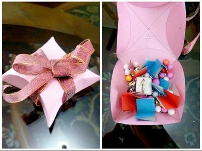 Pillow Box#Gift for friends#Handmade#AN Crafts 02