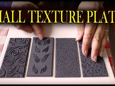 Polymer Clay Tools: Small Texture Tiles