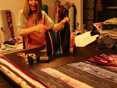 Sewing Tutorial: Peek-a-Boo Sleeve