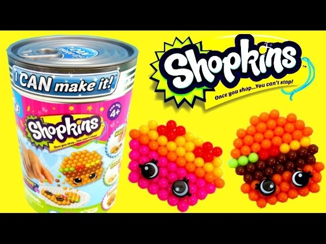 Shopkins Do It Yourself Can Bead Project, Learning Fun for Creative Kids!