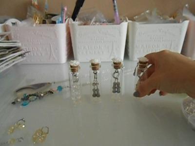 Simple dangle earrings and tutorial plus packaging