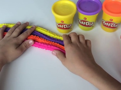Sparkle Play doh Modelling Clay Rainbow DIY Fun and Creative for Kids