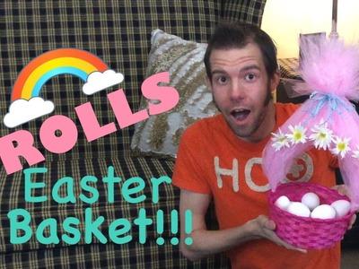 Trolls Easter Basket DIY!!!!!!