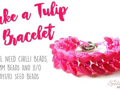 Tulip Bracelet Tutorial