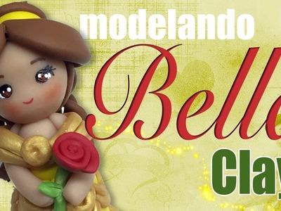 Tutorial Princesa Bella clay o pasta - Princess Bella Polymer Clay tutorial