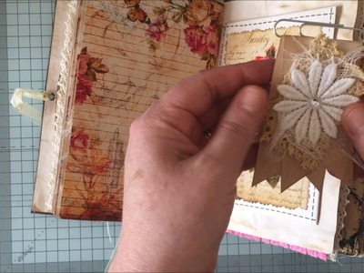 Vintage sewing Journal for Daisy