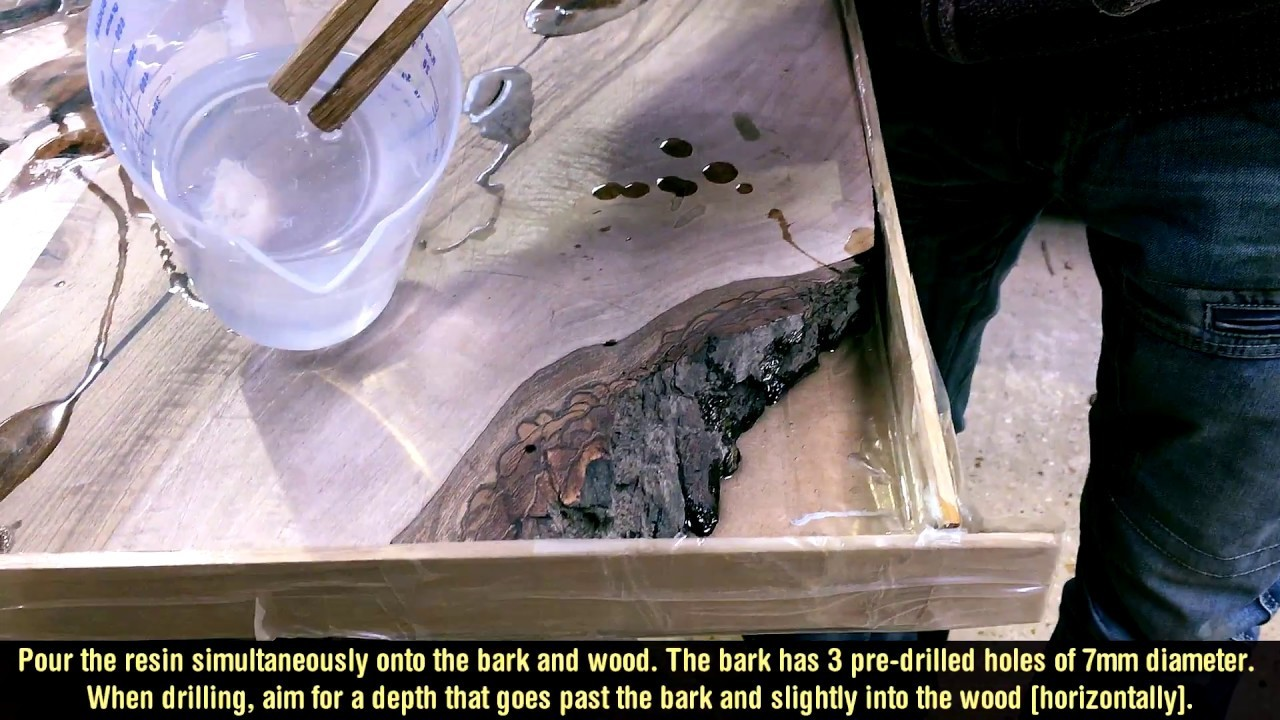 Wood Diy Epoxy Resin Table Corner Part I My Crafts And