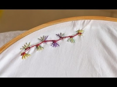 Butterfly Stitch, Hand Embroidery Tutorial