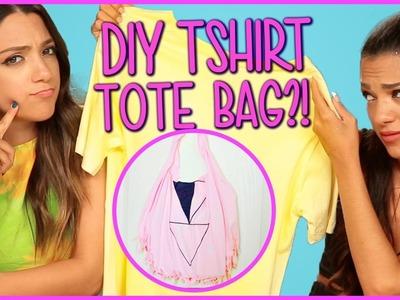 DIY T-Shirt Tote Bags?! | NIKI & GABI DIY or DI-Don't