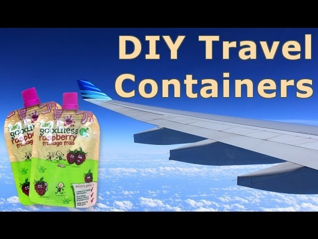DIY Travel Liquid Container Hack for Minimalists