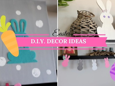 EASY EASTER D.I.Y. DECOR IDEAS | CHEAP DECOR FOR EASTER