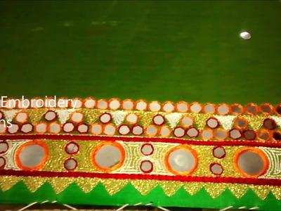 Hand embroidery basic designs   hand embroidery designs, easy mirror work, easy zardosi work