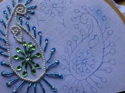 Hand Embroidery Beats Stitch by Amma Arts