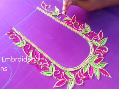 Hand embroidery designs, easy embroidery stitches for beginners, basic hand embroidery stitches