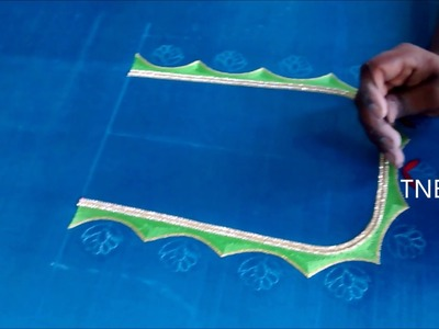 Hand embroidery stitches for blouse | hand embroidery stitches tutorial for beginners, mirror work