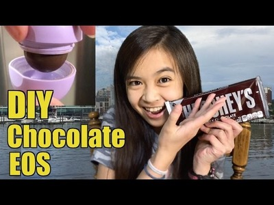 How to make DIY Chocolate EOS - Isabelle's Corner