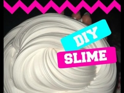 How To : Make Fluffy Slime (For Beginners)