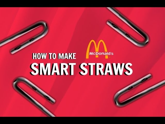 How To Make MCDONALD'S SMART STRAWS! (Only 2000 Made) | DIY