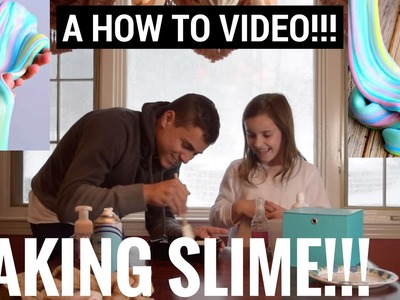 HOW TO MAKE SLIME!!!
