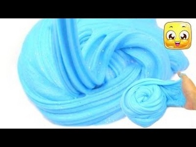 How To Make Soft Serve Slime without borax! Giant Fluffy Slime without shaving cream! Slim