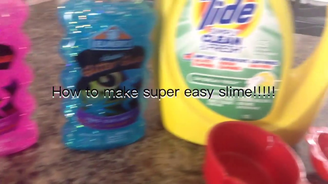 How to make super easy slime with tide and glitter glue how to make super easy slime with tide and glitter glue ccuart Images