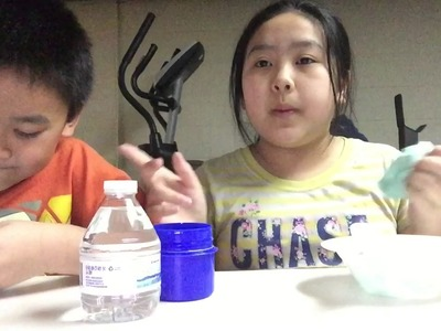 Jot Glue VS Elmer's Glue|How To Make Slime w. My Little Bro