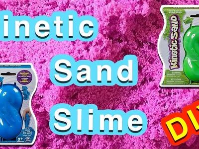 Kinetic Sand Slime | How to Make Slime with Kinetic Sand