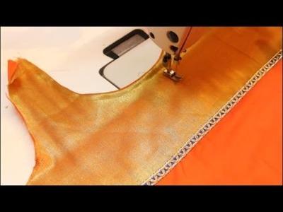 Kurta Stitching With Neckline (DIY)