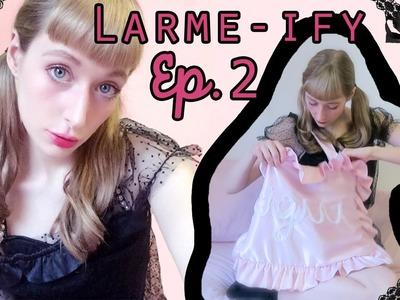 ♡ LARME-IFY ♡ DIY Silky Ruffle Bag
