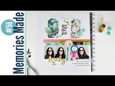 Memories Made #56: Scrapbooking Process Video