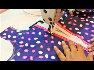 Placket Neckline made in simple and easy method(DIY)