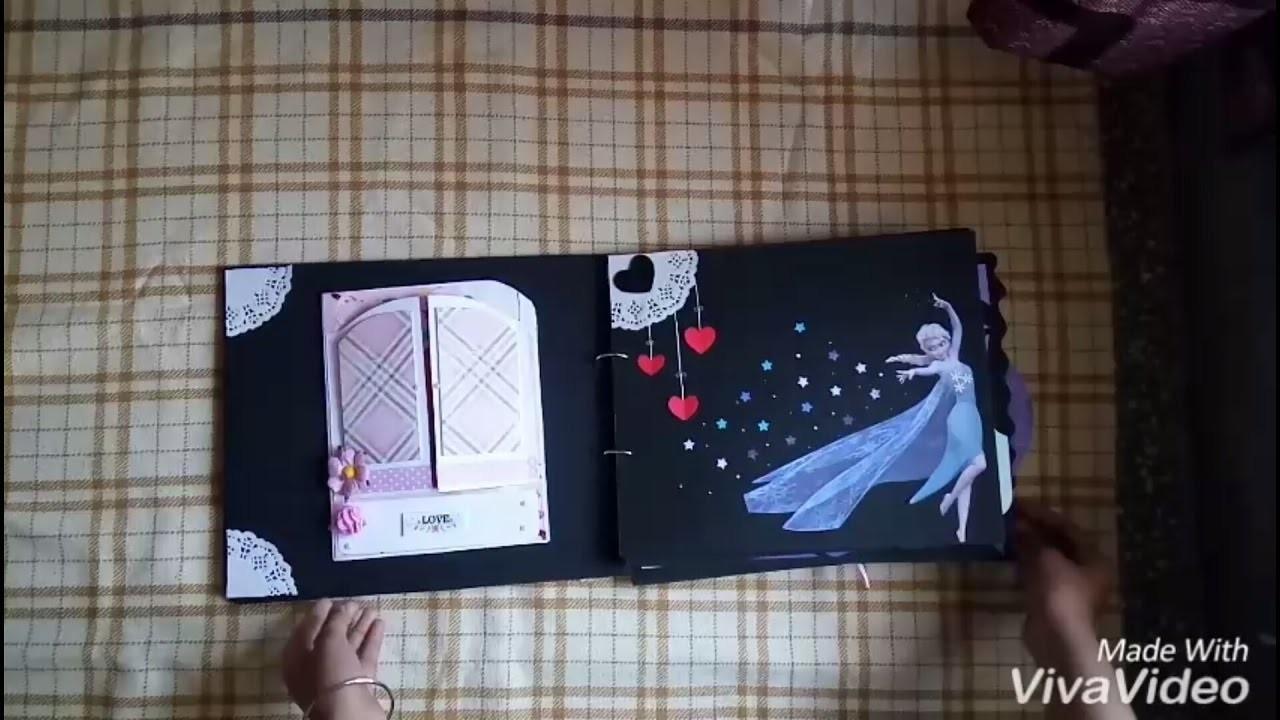 Scrapbook for girlfriend