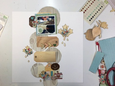 "Scrapbooking Process #76- ""When the Sap Flows"" for Stash Bash"