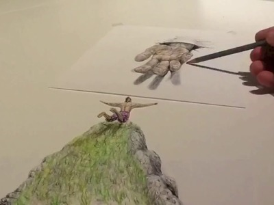 The Leap of Faith - 3D Illusion Drawing