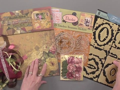 Timeless Treasures Scrapbooking & Card Making Set by Hot Off The Press Inc