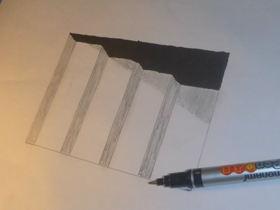 Art Very Easy How To Draw 3d Hole Stairs For Kids Anamorphic